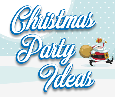 We have great Christmas Party Ideas ideal for your next event
