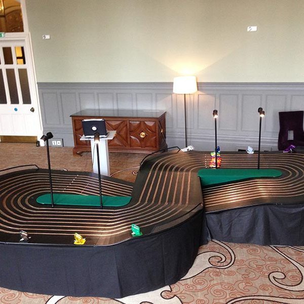 8 Lane Scalextric 1