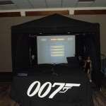 James Bond Laser Shoot
