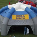 Mini Sega World Inflatable