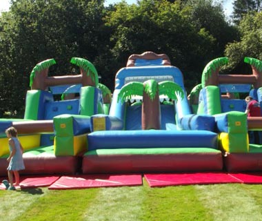 We have a huge selection of inflatables ideal for your event