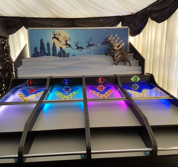 Roll a Ball Reindeer Hire