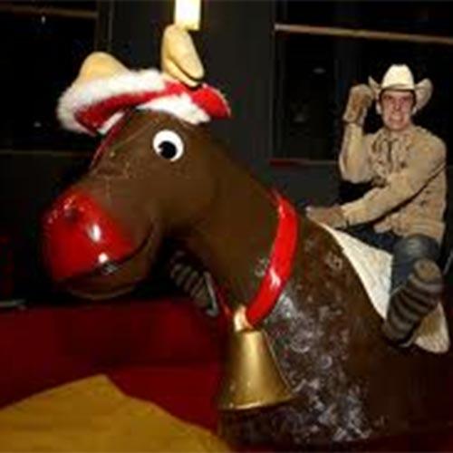 Bucking Reindeer