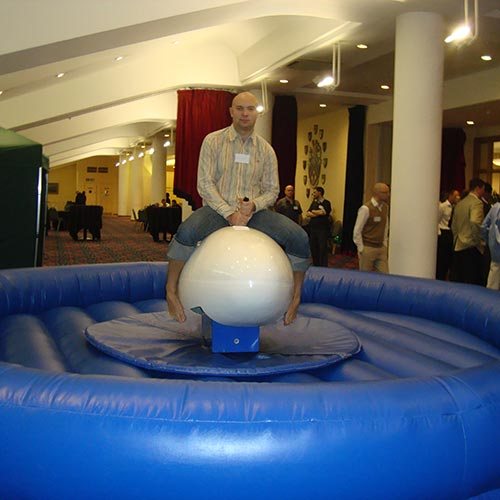 Bucking Rugby Ball
