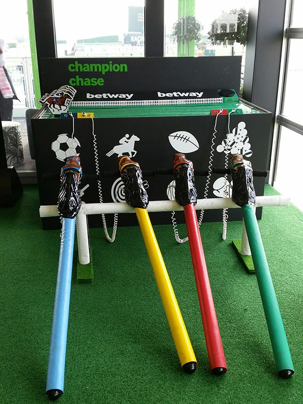 Exhibition Stand Game : Gold cup horse racing exhibition stand attraction hire leisure hire
