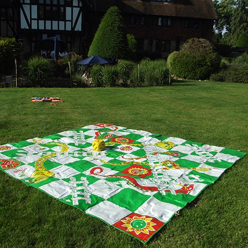 Giant Snakes and Ladders Traditional Childrens And Family Board Kids Game HD