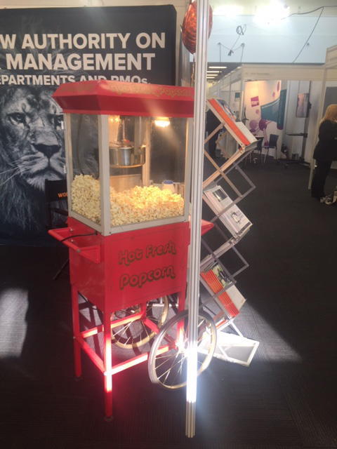 Exhibition Stand Hire : Popcorn machine exhibition stand attraction hire leisure hire